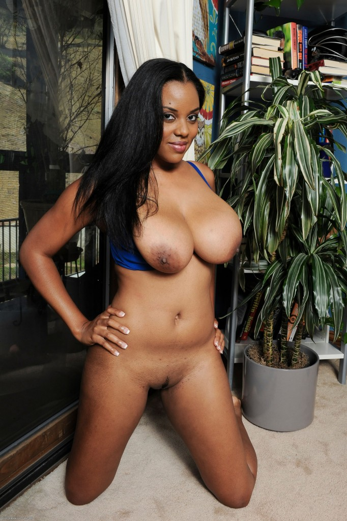 Alia starr big black natural tits 8