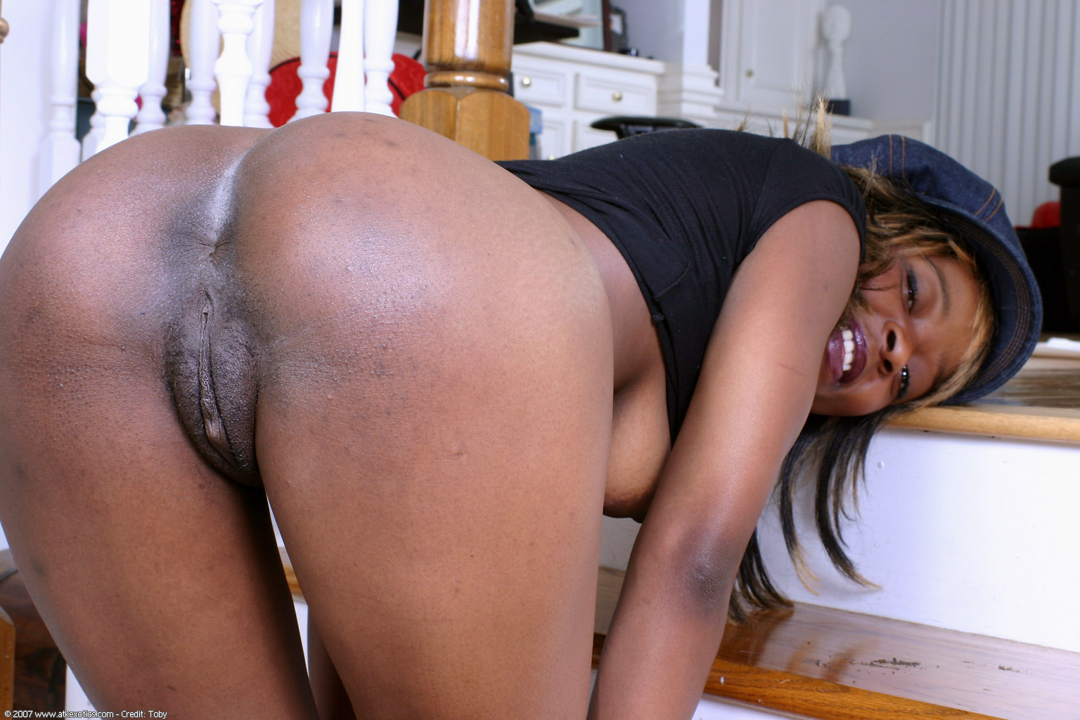 Mature Ebony White Cock